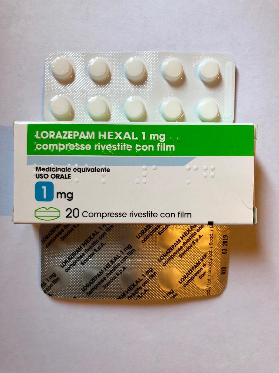 Lorazepam Hexal 1mg Brand