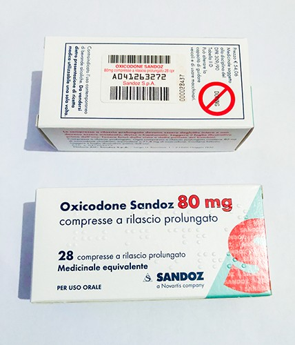Oxycodon 80 mg von Sandoz