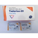 Tadalafil 20 mg oral strip