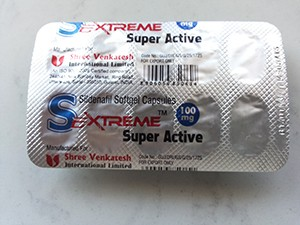 Sextreme Super Active 100mg Sildenafil R