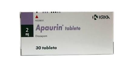Apaurin Diazepam 2 mg