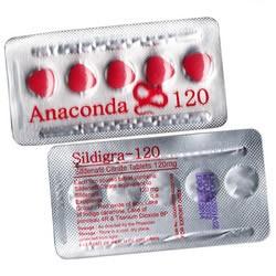 Viagra genérico (Sildenafil) Anaconda 120 mg