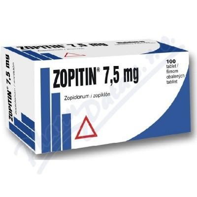 Zimovane (Zopiclone Zopitin) 7.5 mg R