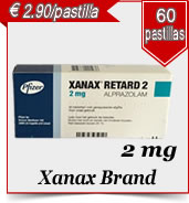 Xanax  Bran 2 mg