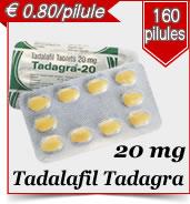 Tadalafil Tadagra 20 mg